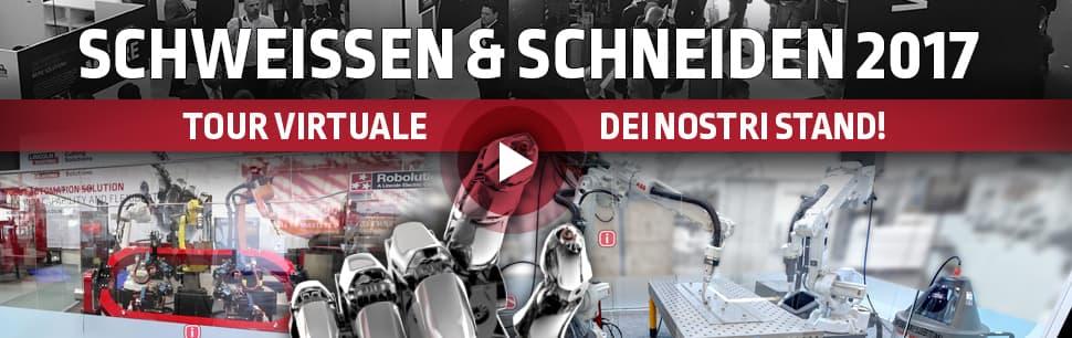 Schweissen & Schneiden 2017: Tour virtuale dei nostri stand!