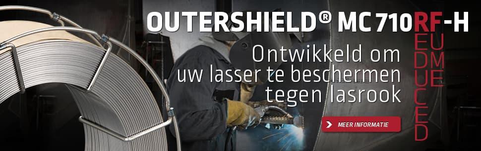 Outershield MC710RF-H: ontwikkeld om uw lasser te beschermen tegen lasrook