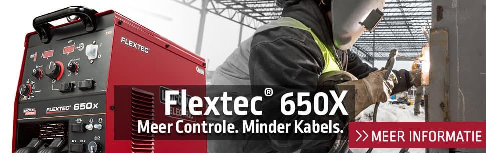 Flextec 650X: meer controle, minder kabels