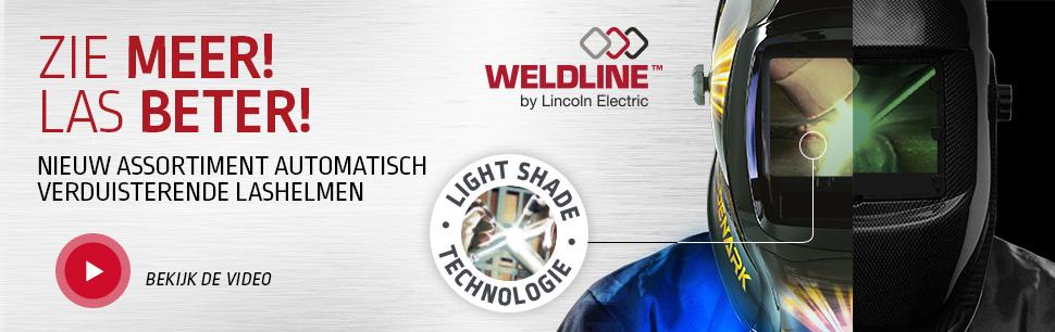 Nieuw assortiment automatisch verduisterende lashelmen Light Shade technologie