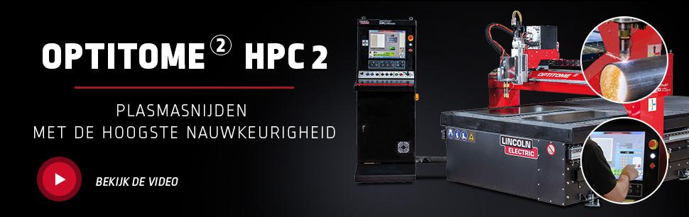 OPTITOME 2 HPC 2 Plasmasnijden met de hoogste nauwkeurigheid