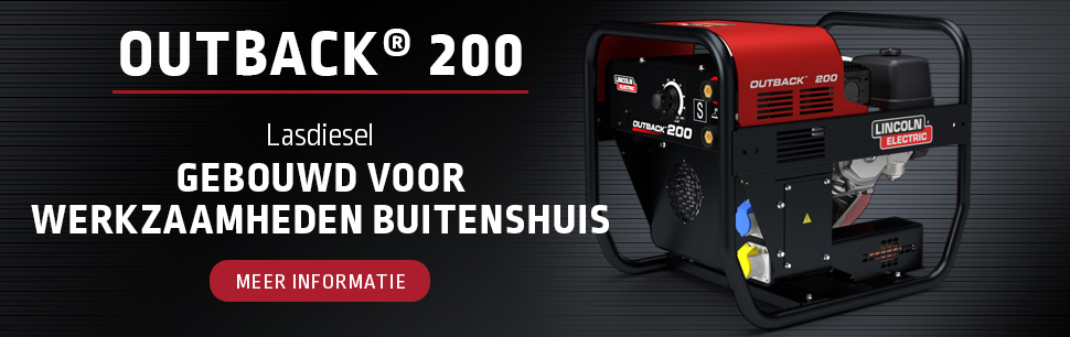 New engine driven welder Outback 200