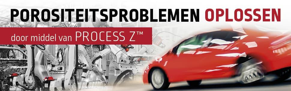 Porositeitsproblemen oplossen door middel van Process Z