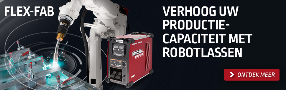 FLEX-FAB: Verhoog uw productiecapaciteit met robotlassen
