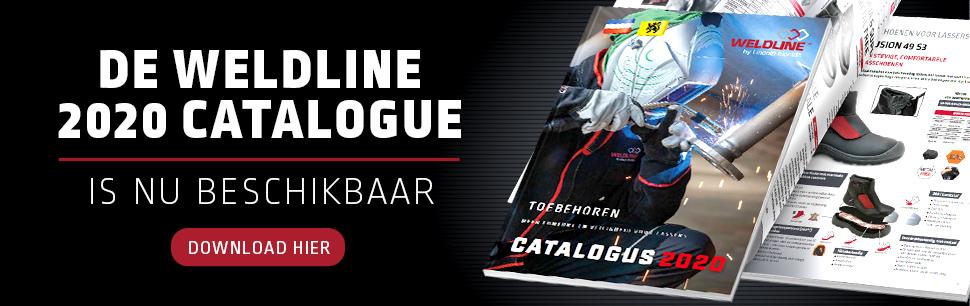 De WELDLINE 2020 CATALOGUE is nu beschikbaar