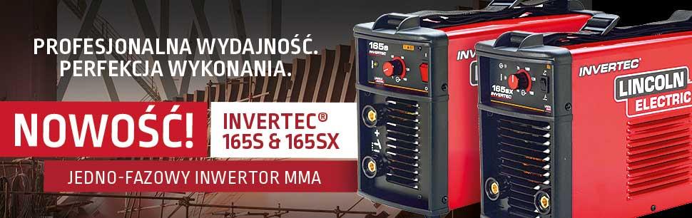 Nowe Invertec 165S & SX - jedno-fazowe inwertory MMA