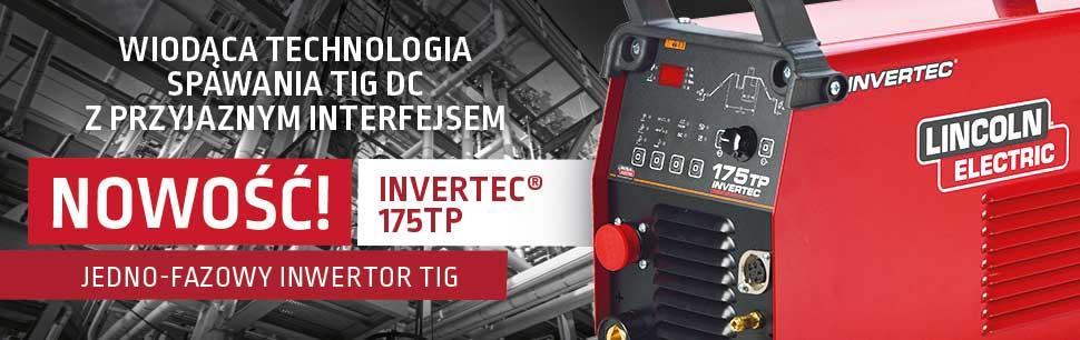 Invertec 175TP: Wiodąca technologia spawania TIG DC z przyjaznym interfejsem
