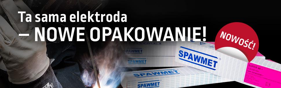 Elektrody Spawmet w nowych opakowaniach