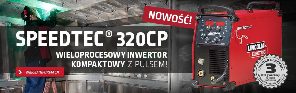 Speedtec® 320CP: Wieloprocesowy Inwertor Kompaktowy z Pulsem