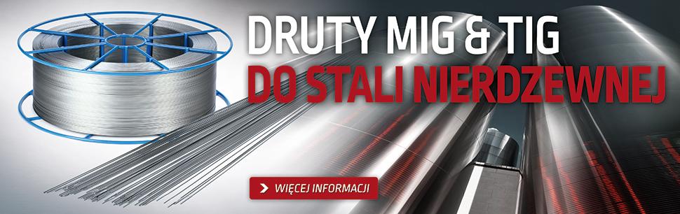 Druty lite do stali nierdzewnej najwyższej jakości produkowane przez Lincoln Electric w   Europie