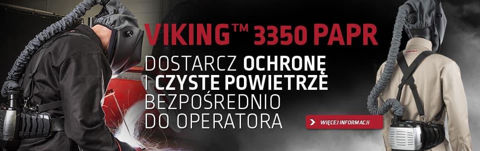Viking 3350 PAPR: dostarcz ochronę i czyste powietrze bezpośrednio do operatora