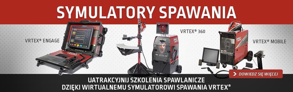 Symulatory spawania VRTEX