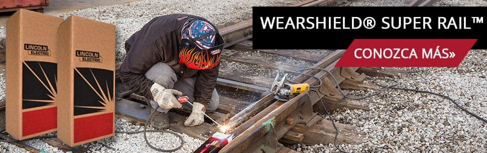 Wearshield Super Rail