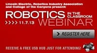Robotics in the Classroom Webinar