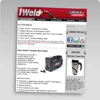 iWeld - Lincoln's FREE Welding Newsletter