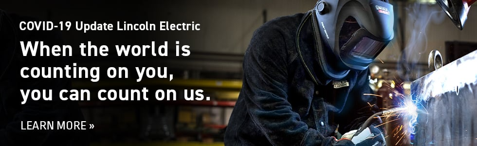 Count on us Lincoln Electric