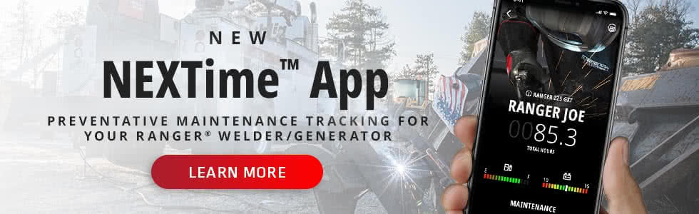 Preventive Maintenance Tracking for Your Ranger Welder/Generator