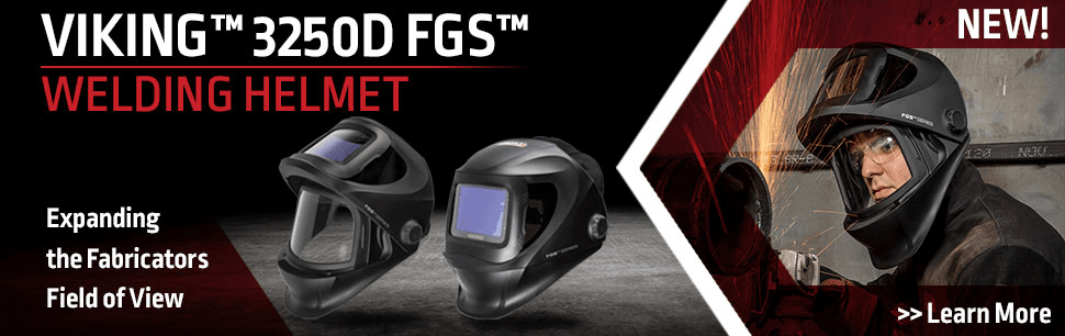 The Single Helmet Solution: VIKING™ 3250 FGS™ from Lincoln Electric