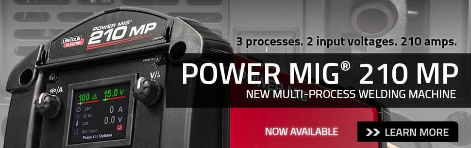 new powermig 210 mp multi process welder