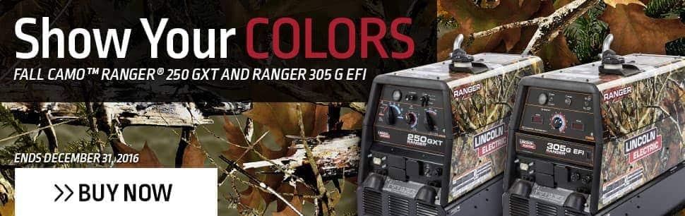 Fall Camo Ranger Promo