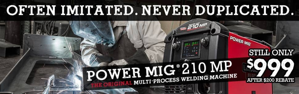 $200 Off Power MIG 210 MP