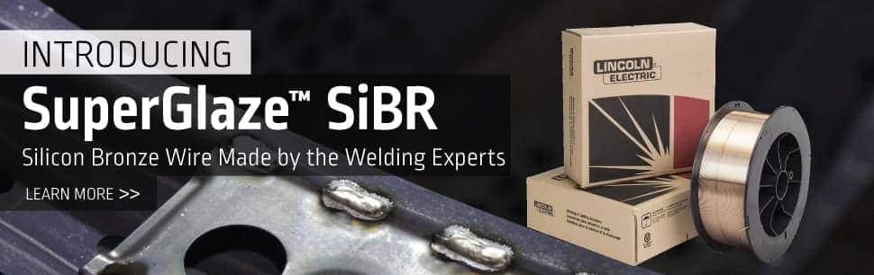 SuperGlaze SiBR: Silicon Bronze Wire Made by the Welding Experts