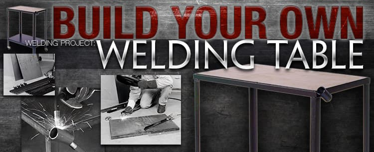 Metal Welding Table on