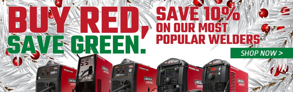 Save 10% on our most popular welders