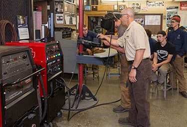 Virtual Welding Prepares High School Students for Welding Careers