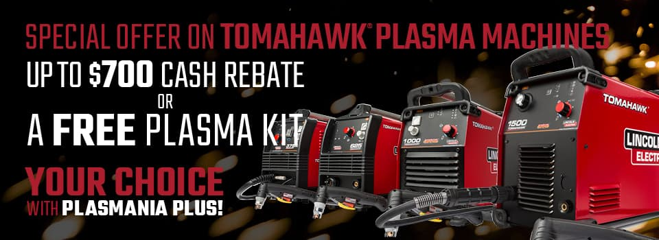 Up to $700 Rebate or Free Plasma Kit
