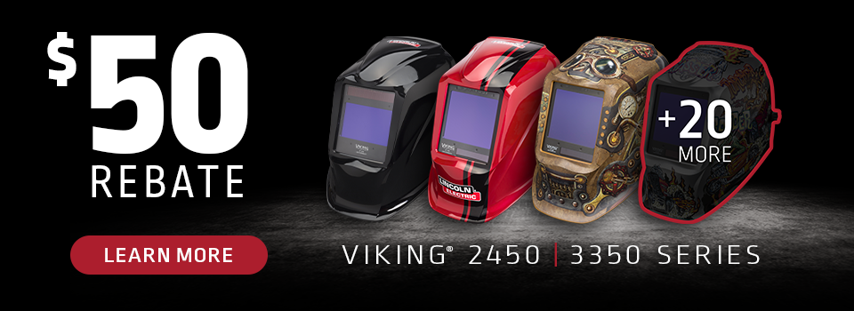 Viking Helmet Rebate