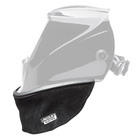 Welding Helmet Bib, Grain Leather
