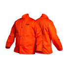 Traditional FR Cloth Welding Jacket - Orange