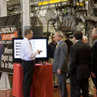 President George Bush at Lincoln Electric for Submerged Arc demo