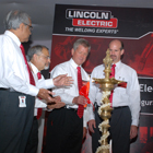 John Stropki dedicates new facility in India.