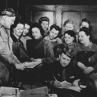 Women at Lincoln Electric welding school
