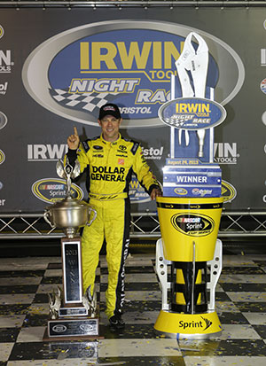 Matt Kenseth Wins Bristol