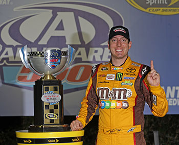 Kyle Busch Wins Atlanta