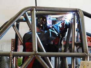 Bad Habit Roll Cage Welding