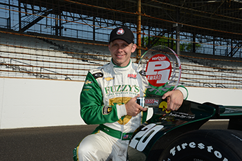 Ed Carpenter Indy 500 Pole Run