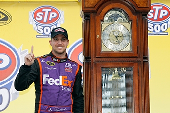 Denny Hamlin Wins at Martinsville Speedway