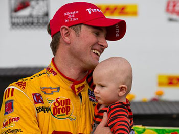 Hunter Reay Fathers Day