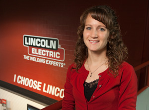Nicole Camp Lincoln Electric Employee