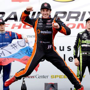Simon Pagenaud Wins in Houston