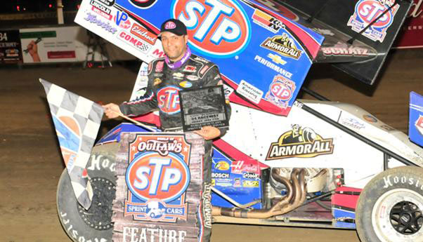 Donny Schatz Wins at FVP Outlaws at Cedar Lake