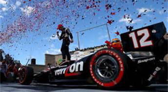 Will Power Wins at Sonoma