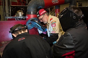 Boy Scouts Welding Merit Badge Training