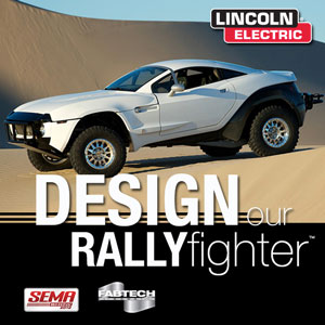 Rally Fighter Custom Skin Competition Lincoln Electric