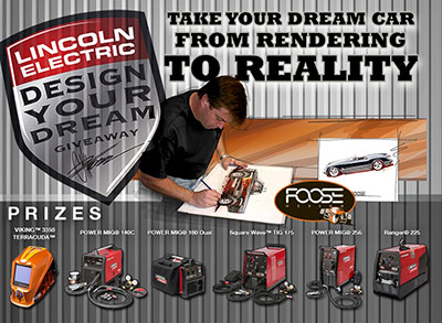 Chip Foose Design Your Dream Giveaway