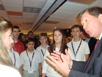 Governor Kasich with John Stropki
